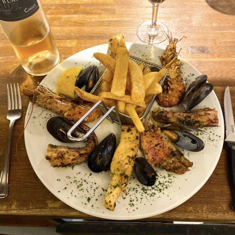 Le Restaurant - Le Perroquet - Cassis